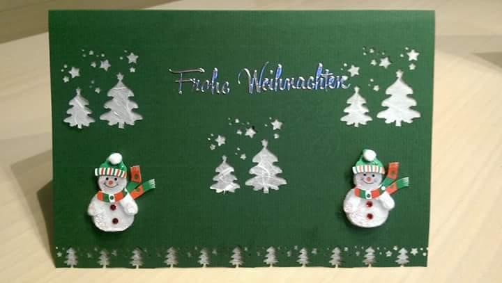 Neue Ideen Fur Selbstgebastelte Weihnachtskarten Papeterie Pegowa