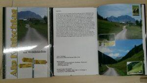 das Buch über die Alp Kohlschlag, von Autor Meinrad Good,Reallehrer,Mels(Ex-Präsident der Alp Kohlschlag)